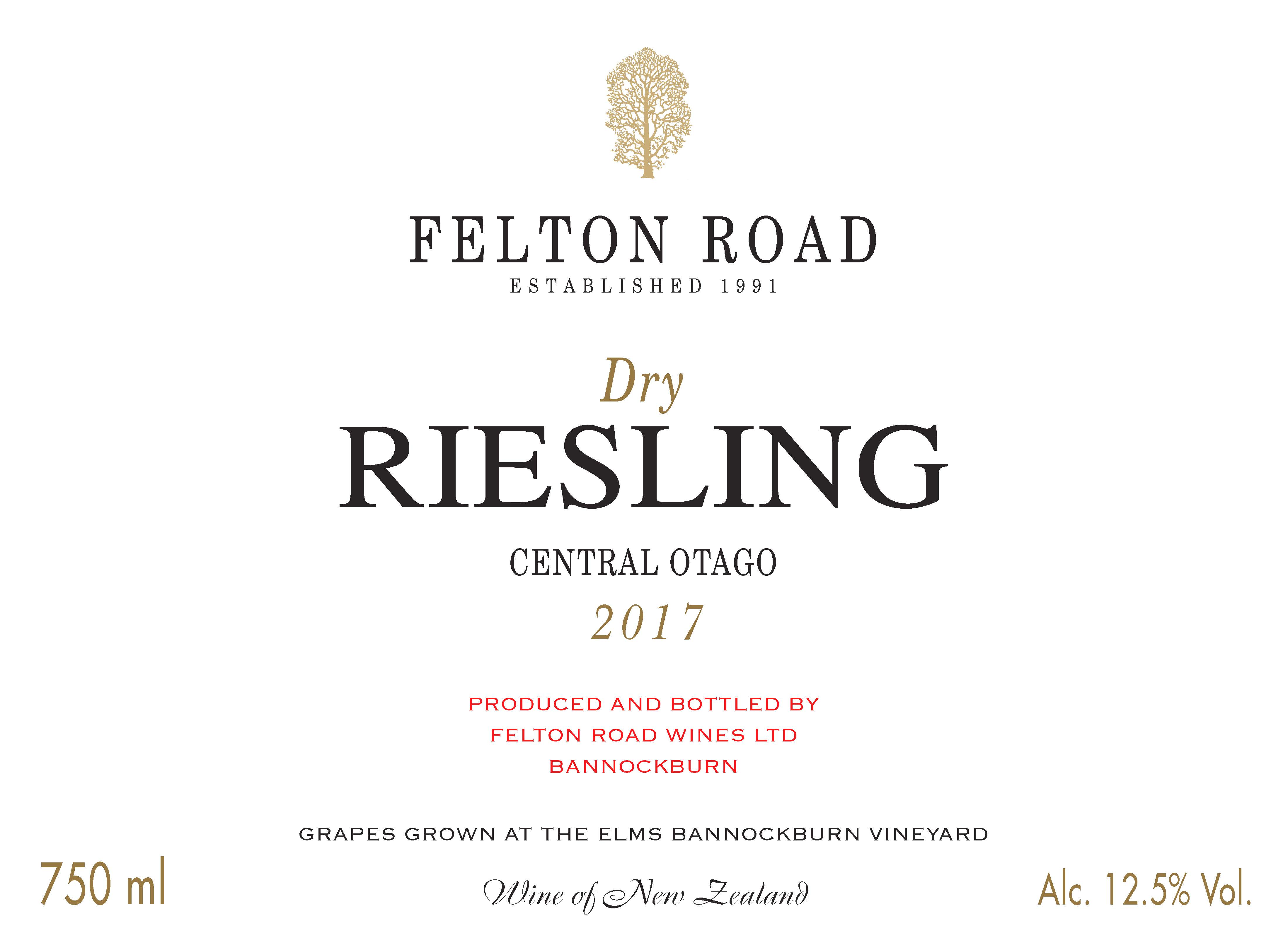 2017 Dry Riesling image