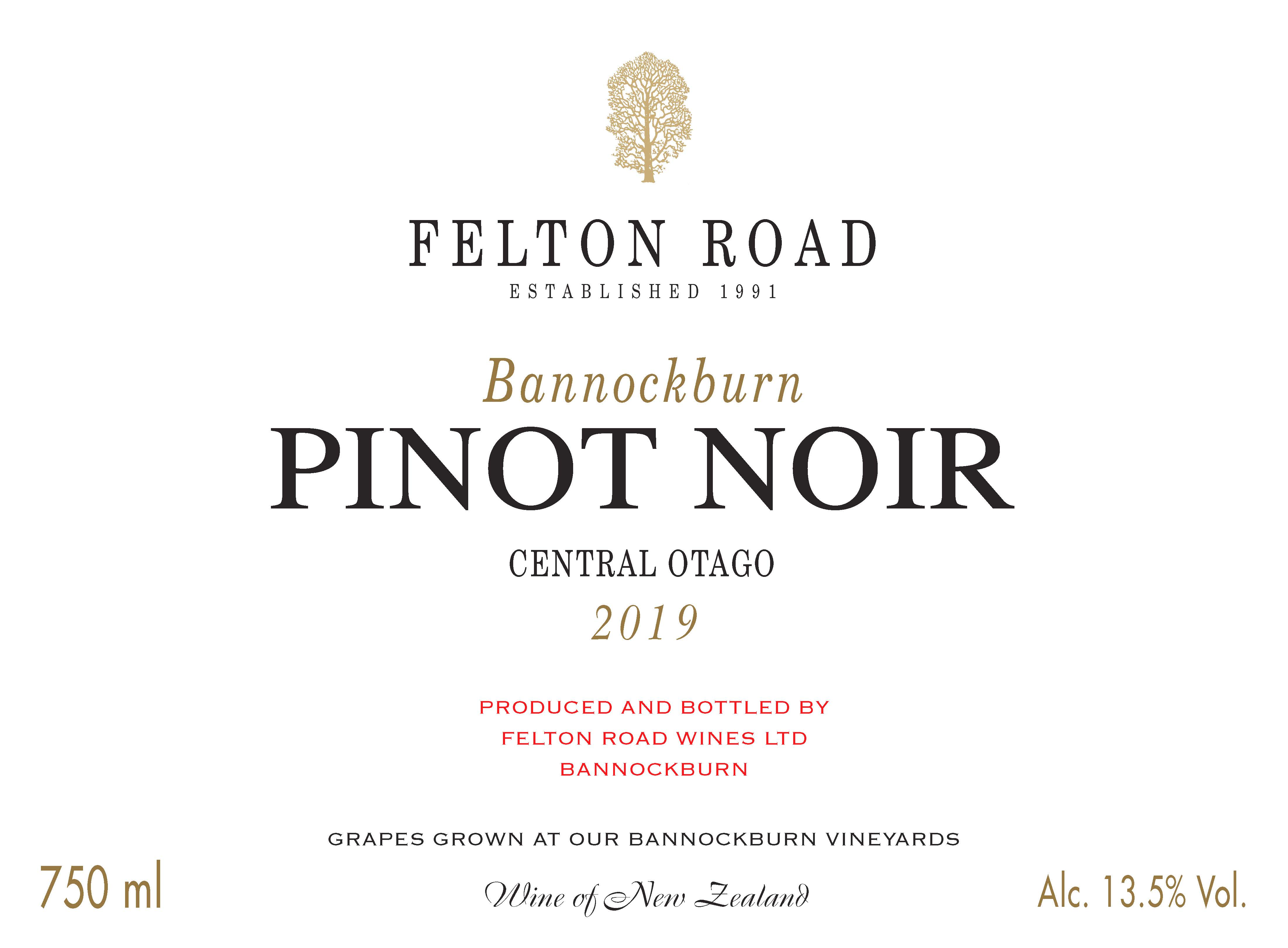 2019 Pinot Noir Bannockburn - SORRY SOLD OUT image