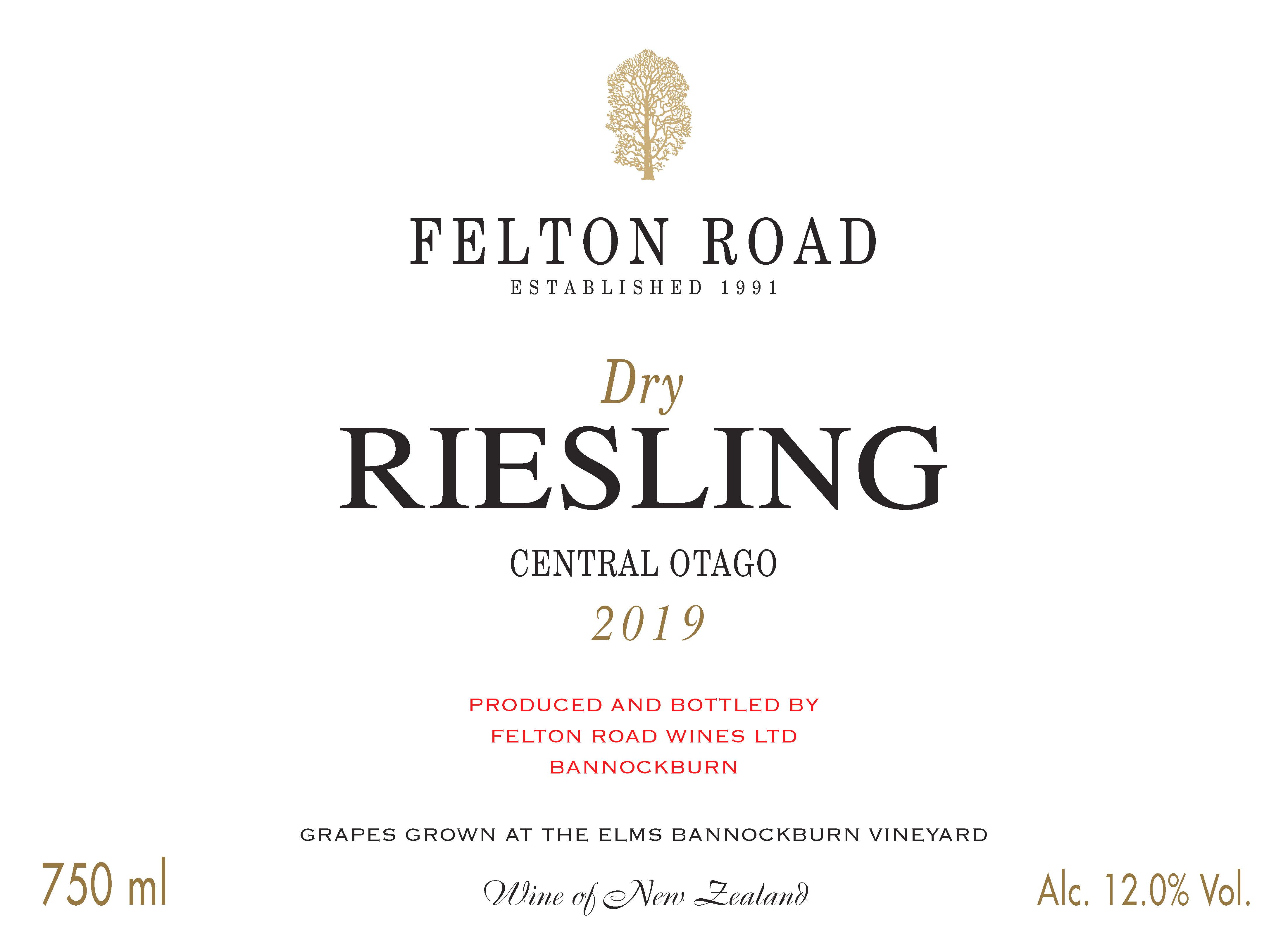 2019 Dry Riesling image