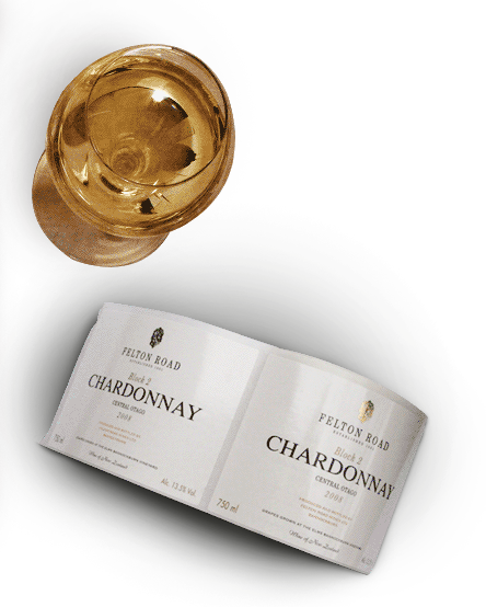 Chardonnay wines of Felton Road wines